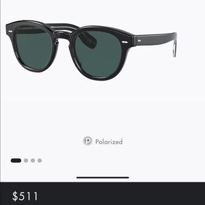 Oliver people's cary grant polarized sunglasses